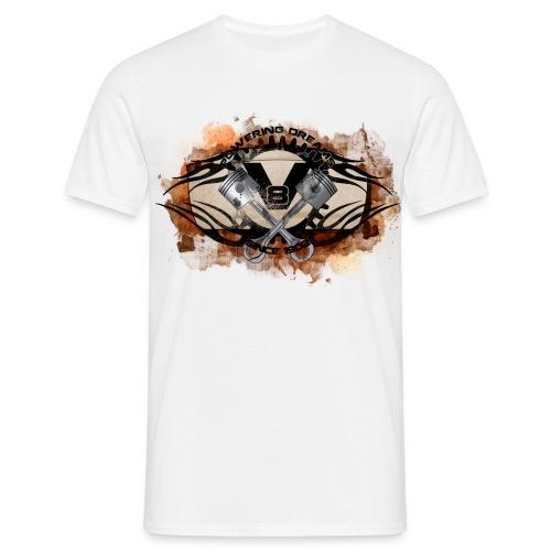V8 Powering Dreams - Männer T-Shirt