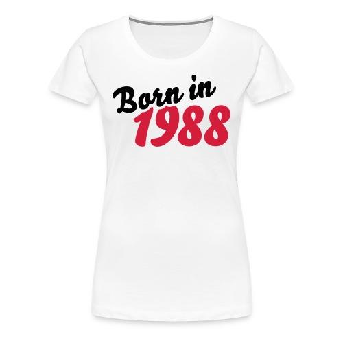tee shirt femme Née en 1988 - Women's Premium T-Shirt