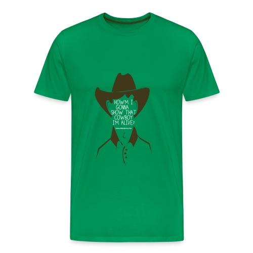 COWBOY - Men's Premium T-Shirt