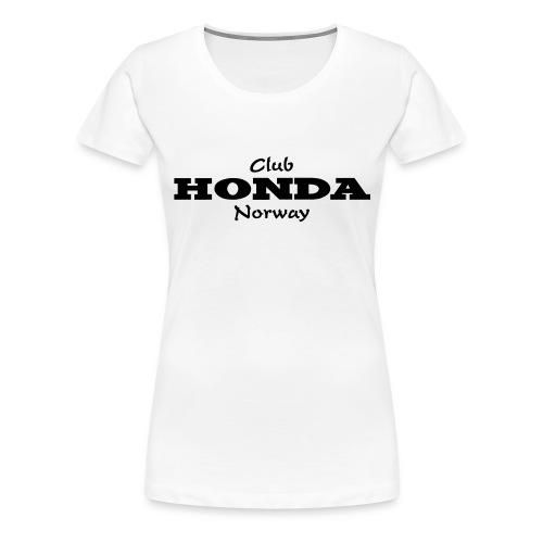 CHN T-shirt Damer - Premium T-skjorte for kvinner