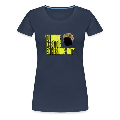 Herning-Hat - Dame premium T-shirt