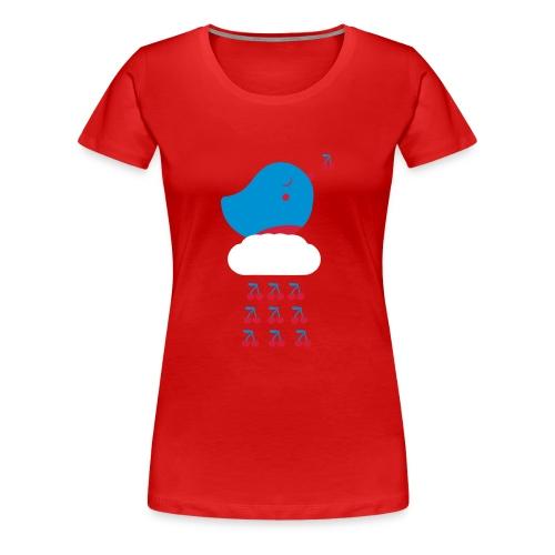 Cherry Bird  - Frauen Premium T-Shirt