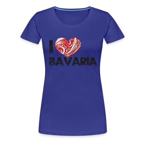 I ♥ Bavaria - Frauen Premium T-Shirt