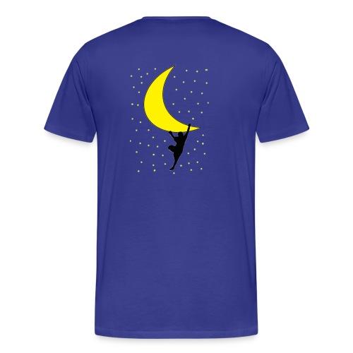 moonclimbtrasparence - Maglietta Premium da uomo