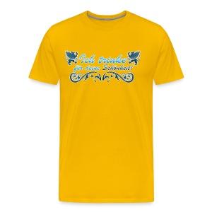 Ich trinke für deine Schönheit! - Männer Premium T-Shirt