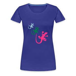 hot lizard - Women's Premium T-Shirt