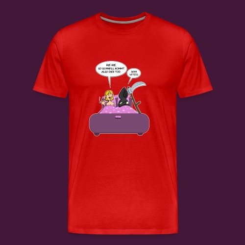 Der Tod kommt - Männer Premium T-Shirt