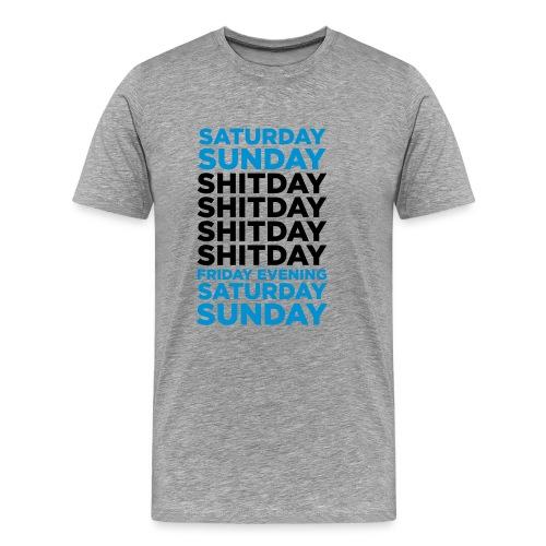 shitday - Mannen Premium T-shirt