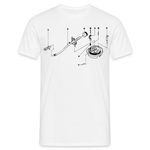 Exploded view sl 1200 / beige - Mannen T-shirt