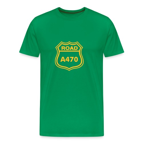 A470 T shirt - Green - Men's Premium T-Shirt