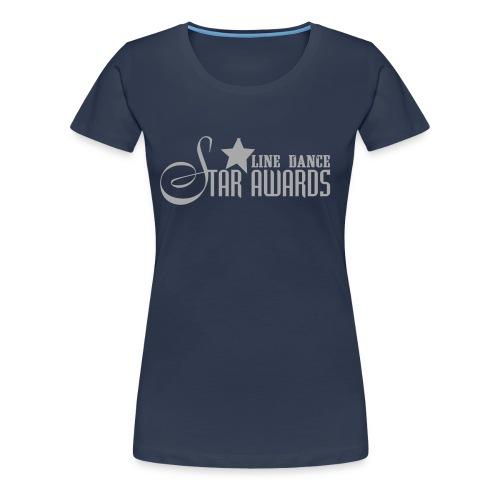 Da.-Shirt Girlie Silver Sparkle - Frauen Premium T-Shirt