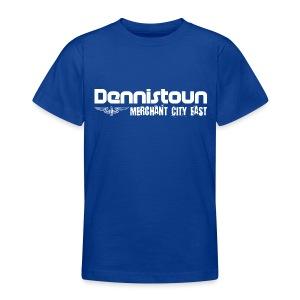 Dennistoun Merchant City East - Teenage T-shirt