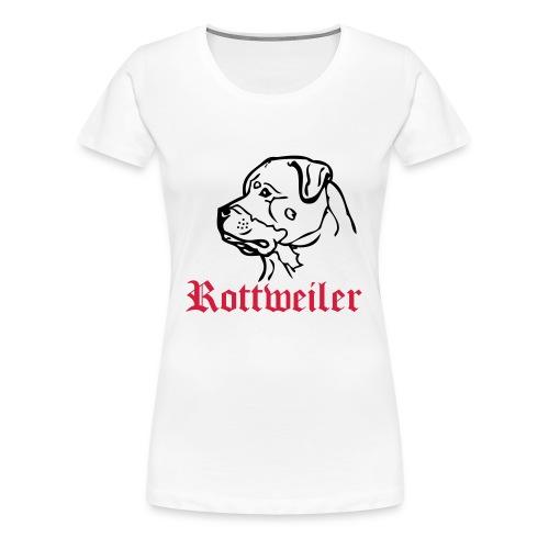 Rorttweiler womans top - Women's Premium T-Shirt