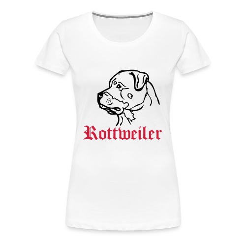 Rorttweiler womans top - Women's Premium T-Shirt