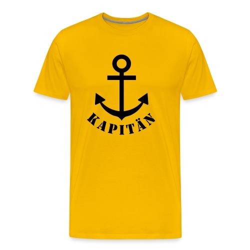 Kapitän - Männer Premium T-Shirt