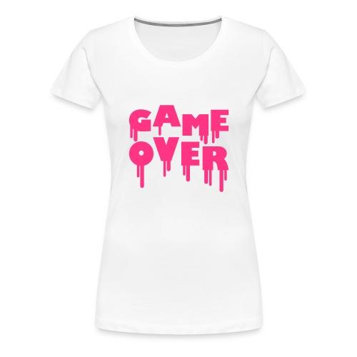 Game Over - T-shirt Premium Femme