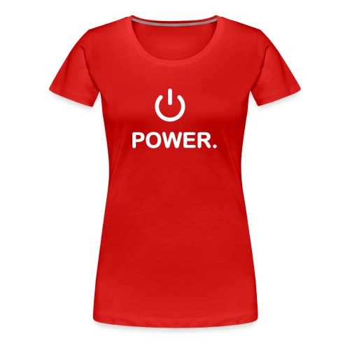 Power Girl - T-shirt Premium Femme