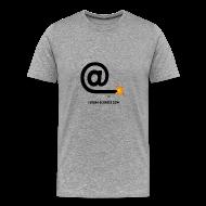 Tee shirts ~ T-shirt Premium Homme ~ Arobase etincelle gris