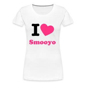 I love Smooyo - Frauen Premium T-Shirt