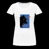 Tee shirts ~ T-shirt Premium Femme ~ Save gorille femme blanc