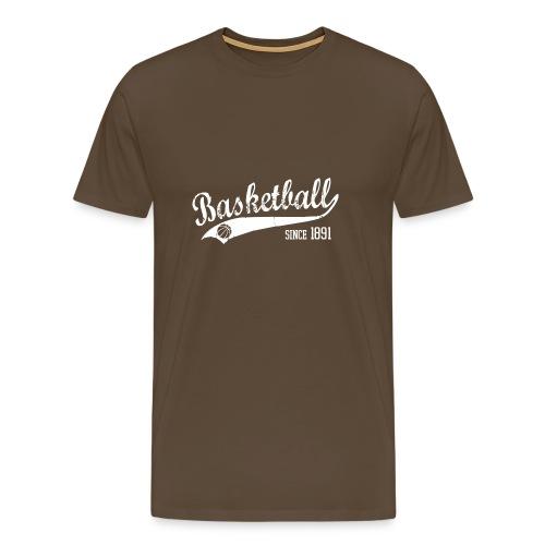 Basketball Slogan - Männer Premium T-Shirt