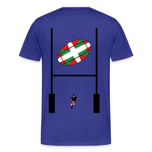 t-shirt rugby basque - T-shirt Premium Homme
