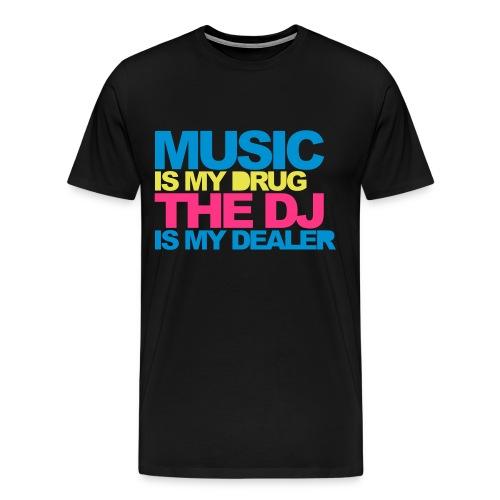 Music men shirt dealer - Men's Premium T-Shirt