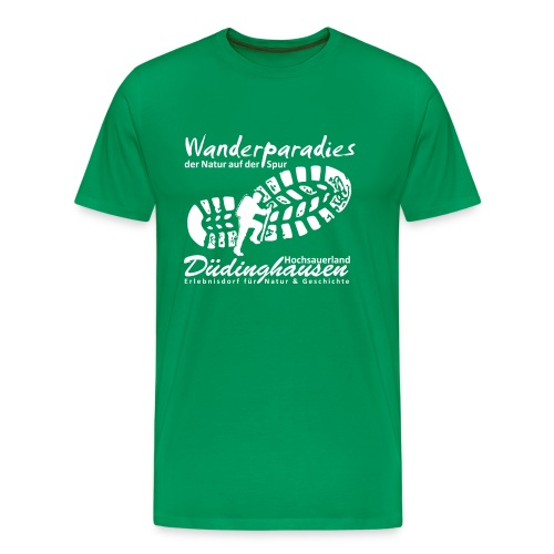 Wanderparadies Düdinghausen - Männer Premium T-Shirt