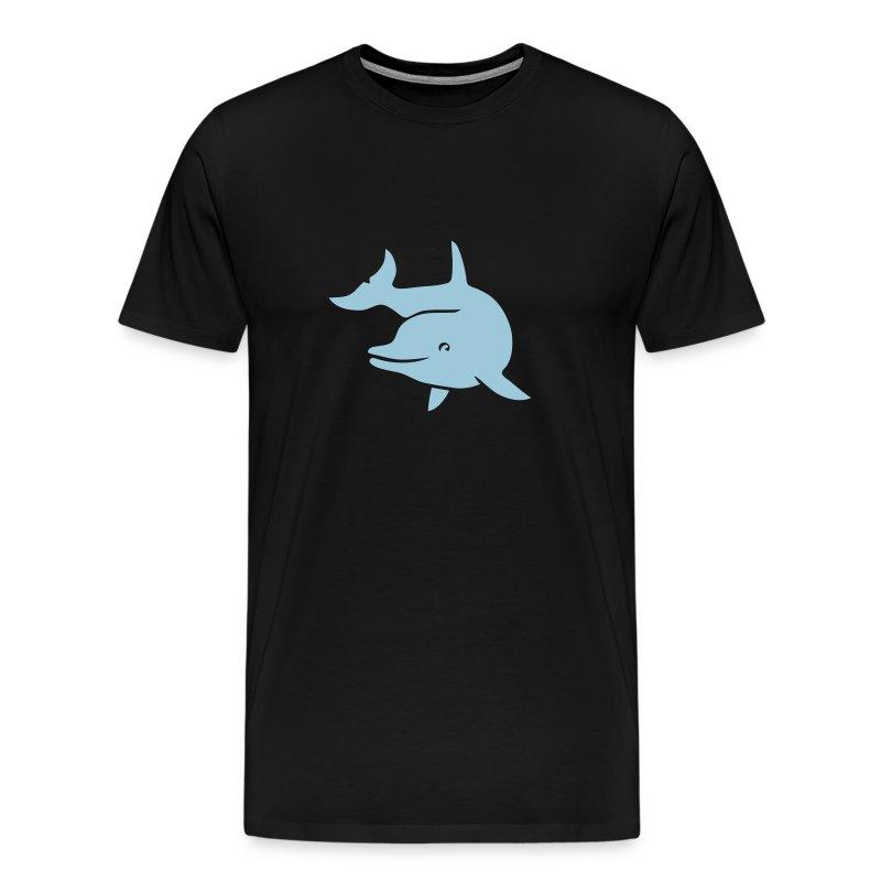 t-shirt delphin delfin dolphin wal orka orca flipper - Männer Premium T-Shirt