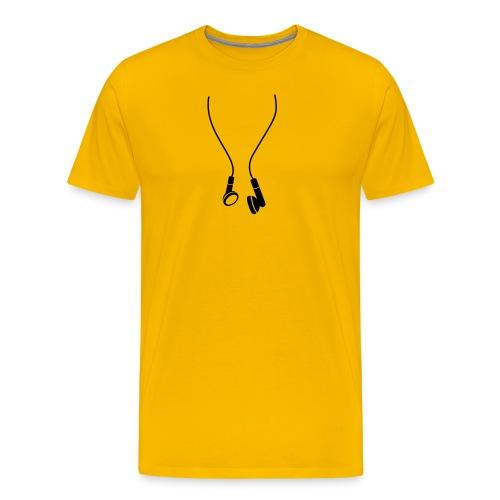 oordopjes - Mannen Premium T-shirt