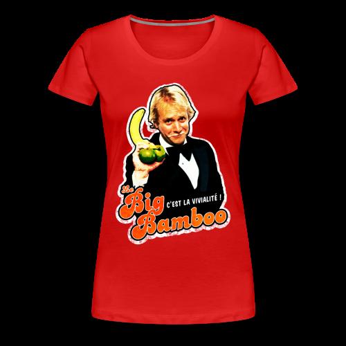 T-shirt femme - Le Big Bamboo - The man - T-shirt Premium Femme