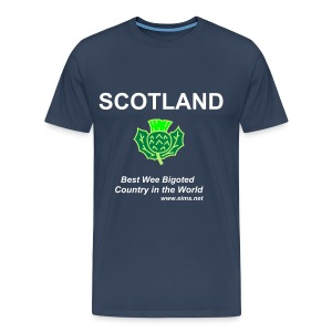 Scotlands Shame Blue - Men's Premium T-Shirt