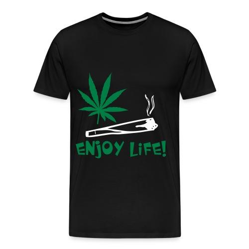 Weed shirt men - Men's Premium T-Shirt