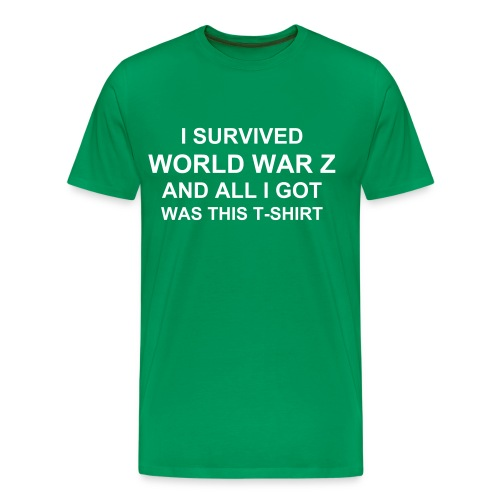 I Survived WWZ And All I Got... - Men's Premium T-Shirt
