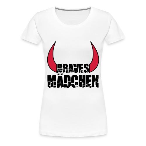 liebe ,ädchen  - Frauen Premium T-Shirt