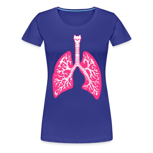 Lungs - Women's Premium T-Shirt