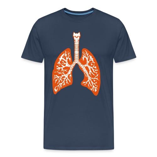 Lungs - Men's Premium T-Shirt