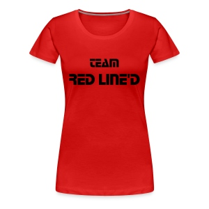 team red lined - Women's Premium T-Shirt