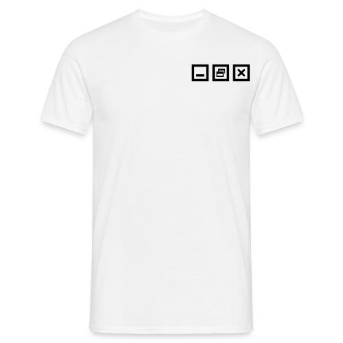 Windows - Männer T-Shirt