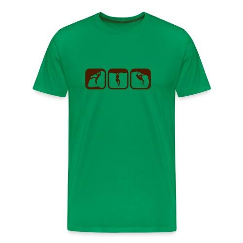 climbing shirt - Männer Premium T-Shirt