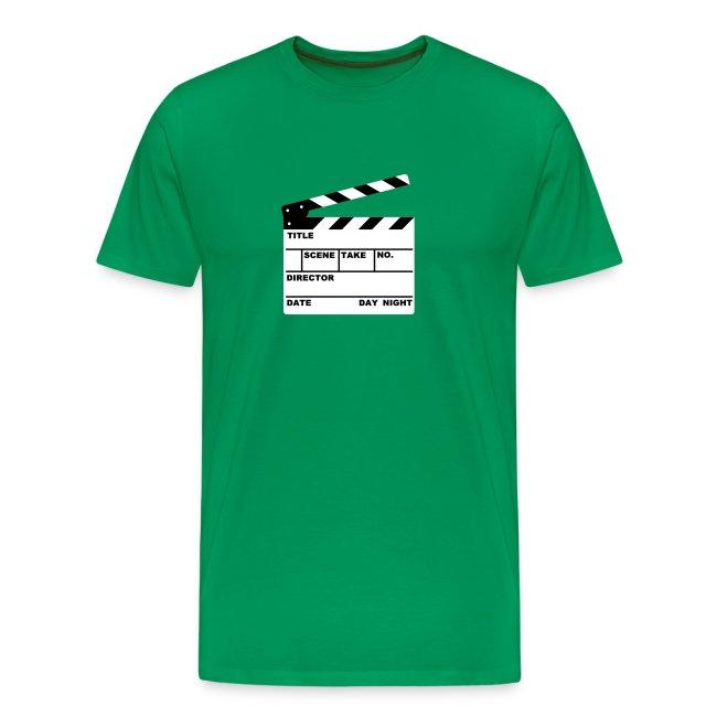 Writable Clapper Board T-Shirt