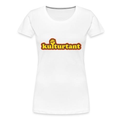 KULTURTANT T-shirts - Premium-T-shirt dam