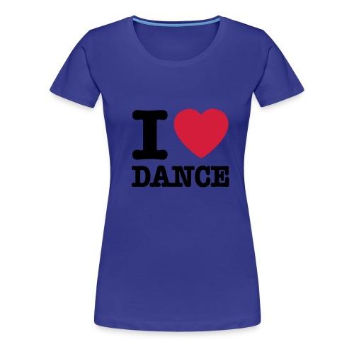 tanssi paita - Naisten premium t-paita