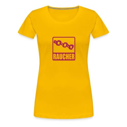Kettenraucher - Frauen Premium T-Shirt