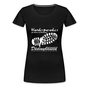 Wanderparadies Düdinghausen - Frauen Premium T-Shirt