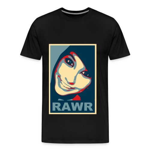 Boxxy Poster - Men's Premium T-Shirt