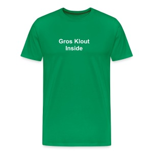 Gros Klout Inside - T-shirt Premium Homme
