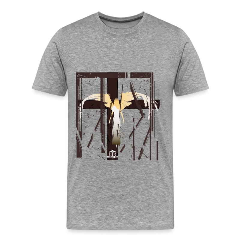 Baroque 'Caged Angel' SHADED Shirt - Standard Fit - Men's Premium T-Shirt