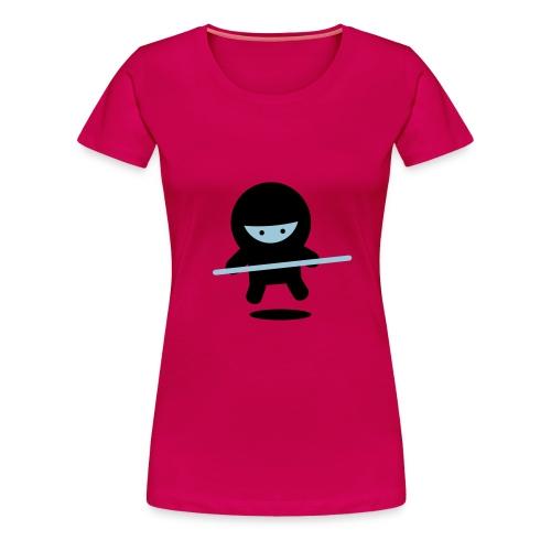 Don't follow Ninja girl!!! - Women's Premium T-Shirt