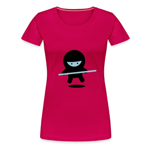 Don't follow Ninja girl!!! - Women's Premium T-Shirt